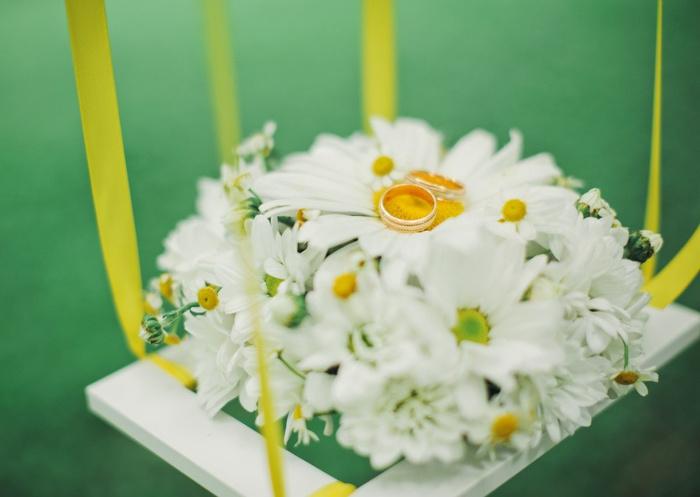 Ромашковая свадьба